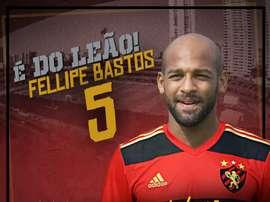 Fellipe Bastos afrontará una nueva cesión. Twitter/SportRecife