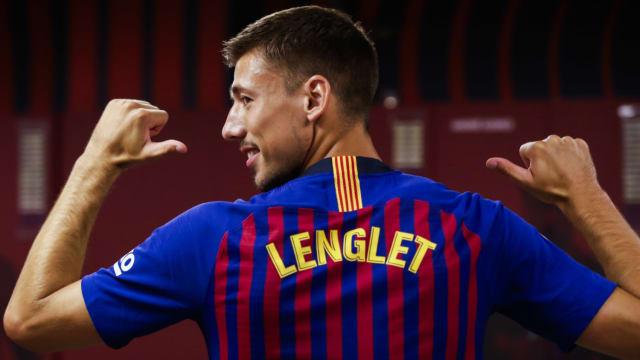 Maillot THIRD FC Barcelona Clement Lenglet