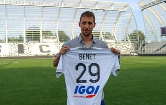 Jessy Benet se une al Amiens SC. AmiensFootball