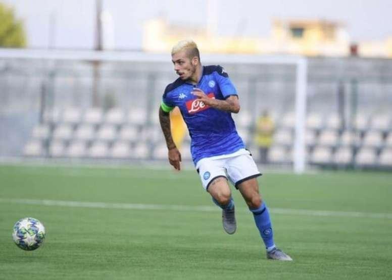 Gaetano podría cambiar de equipo en Italia. SSCNapoli