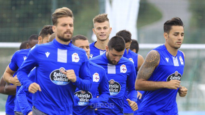 El Deportivo espera recuperar jugadores. Twitter/RCDeportivo