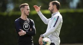 Maddison no estará con Inglaterra. AFP