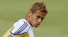 El jugador japonés del Milan, Honda.