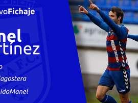 Manel Martínez, presentado en el Lorca FC. LorcaFCSAD