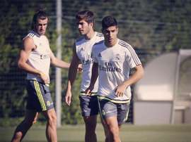 Lucas Silva (middle) wants to relaunch his career. MarcoAsensio