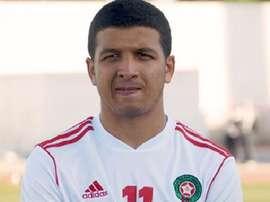 El jugador marroquí Hicham Khaloua, nuevo futbolista del Celta. CeltaVigo