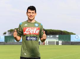 Lozano cercherà di rompere la maledizione messicana in Serie A. SSCNapoli