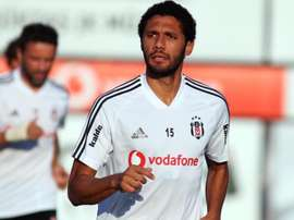 He could leave Arsenal. Twitter/Besiktas