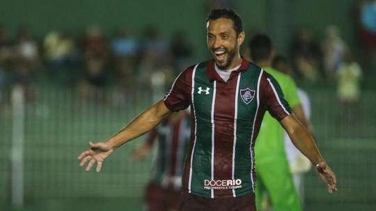 Nenê, autor del triunfo de Fluminense. FluminenseFC