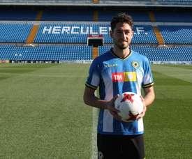 Candela afirmó que el equipo ha mejorado con Visnjic. Twitter/HerculesCF
