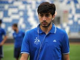 El futbolista georgiano firma para las cuatro próximas temporadas. RealZaragoza