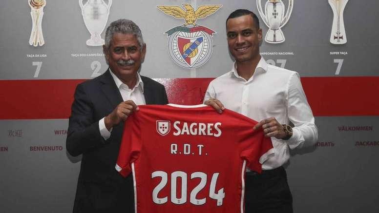 Benfica e Real Madrid entraram em acordo por Raúl de Tomás. EFE