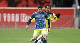 Colombia estreia seu novo uniforme. /SeleccionColombia