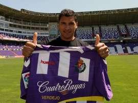 Marcelo Silva espera triunfar en el Zaragoza tras fracasar en Valladolid.