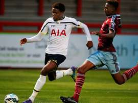 Oduwa volvió en Enero de su cesión al Rangers escocés. TottenhamHotspur
