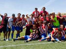 El Atlético ya está en semis. AtletiAcademia