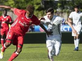 Fran García seguirá vinculado al Madrid hasta 2022. EFE/Archivo