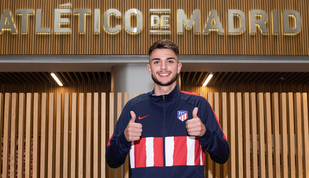 L'Atlético prolonge une pépite de 19 ans. AtléticoDeMadrid