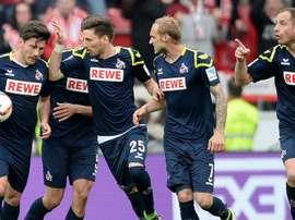 Otra remontada más de Köln, esta vez ante el 'Gladbach. FCKoeln