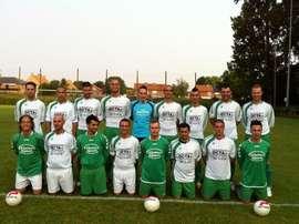El Lanklaar VV, equipo de la Tercera División Provincial de Bélgica, en una foto tras un entrenamiento. LanklaarVV