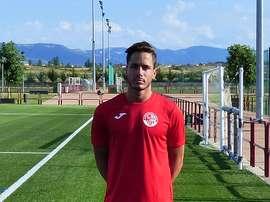 Diego Jiménez jugará una temporada más en las filas de la SD Logroñés. SDLogrones