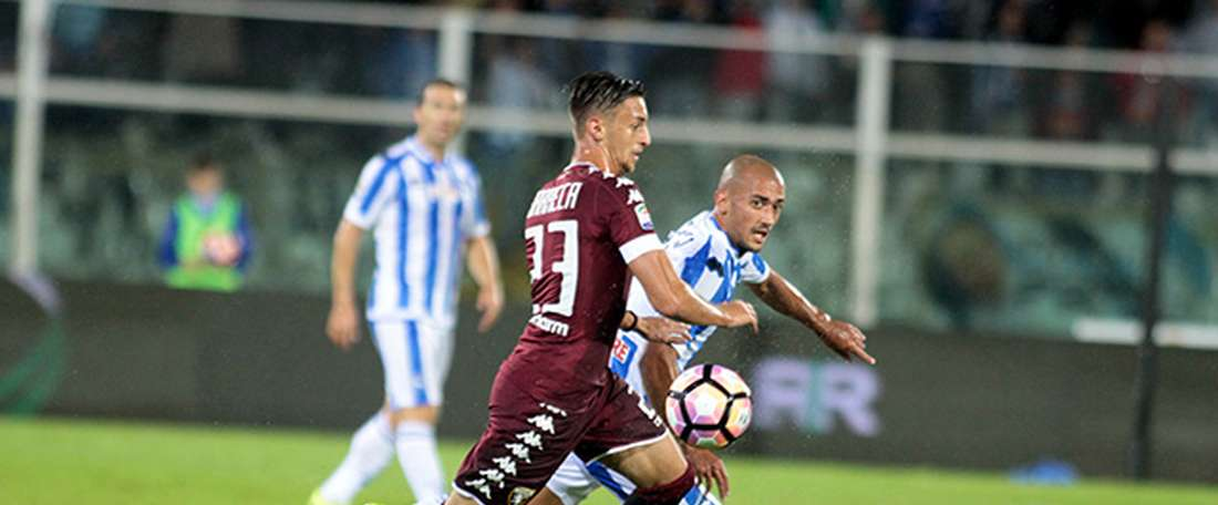 Barreca pode abandonar o Torino este verão. TorinoFC
