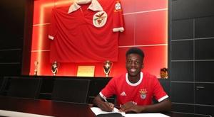 Fábio Baptista rejoint Benfica. SLBenfica