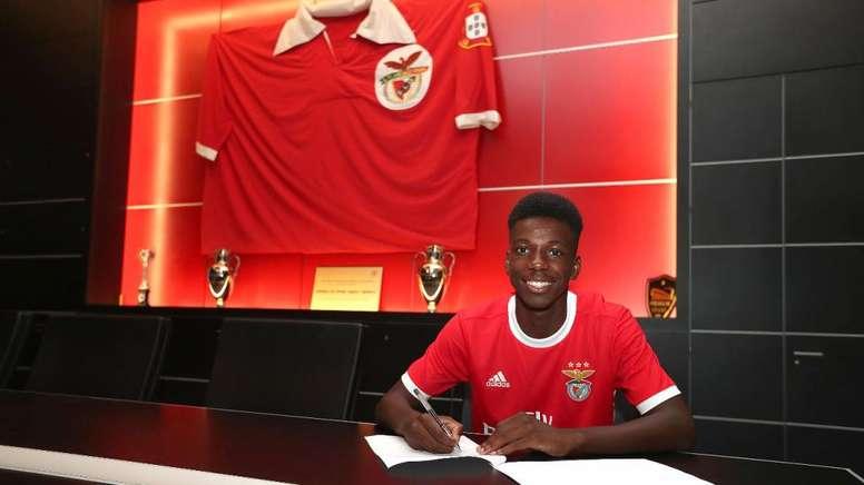 Fábio Baptista ya es jugador del Benfica. SLBenfica