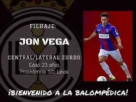 Jon Vega es nuevo jugador del Conquense. Twitter/Conquense