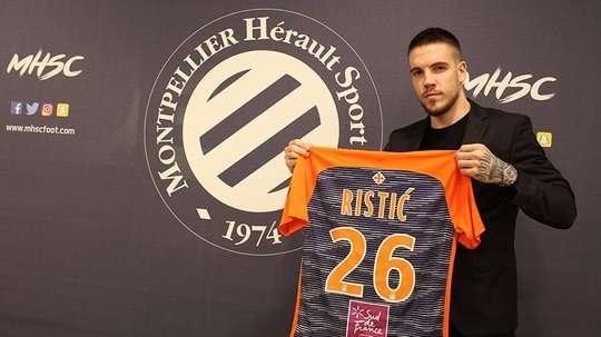 Mihailo Ristic renforce Montpellier. MontpellierHSC