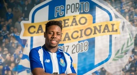 Manafá ya ha sido presentado. Twitter/FCPorto