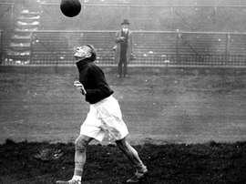 Matthias Sindelar fue el mejor futbolista de Austria de la década de 1930.
