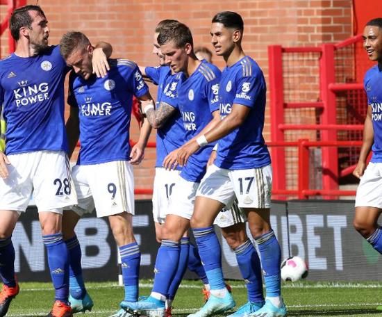 El Leicester le da la bienvenida al Sheffield United. LCFC