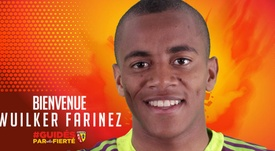 El prometedor Faríñez refuerza la portería del Lens. RCLens