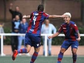 Un gol de Oprea en el último minuto del tiempo añadido dio la victoria al Levante. LevanteUDFemenino