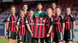 Men and women are paid the same at Lewes. LewesFC