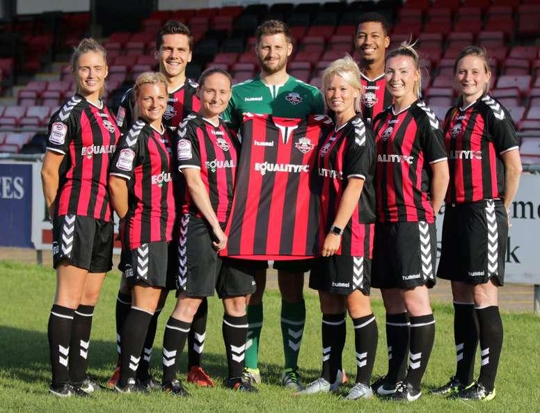 El Lewes abandera la igualdad en el mundo del fútbol. LewesFC