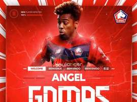 Angel Gomes agora é do Lille. LOSC