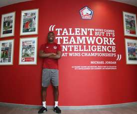Rafael Leao firmó con el Lille. Twitter/LoscLive