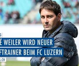 El técnico firma por una temporada. FCLuzern
