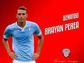 El Lugo da la bienvenida a Brayan Perea, jugador que ha sido por la Lazio. DeportivoLugo