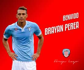 Brayan Perea estuvo apartado del Lugo por indisciplina. DeportivoLugo