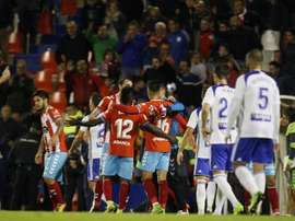 El Lugo venció al Zaragoza en el minuto 93. LaLiga