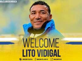 O Maccabi Tel-Aviv anunciou a chegada do novo técnico, Lito Vidigal. MaccabiTLVFC
