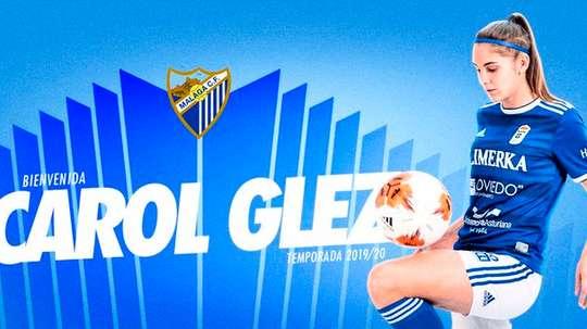 Carol González refuerza el ataque malagueño. MálagaCF
