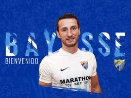 Baysse est un joueur de Malaga. MalagaCF