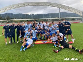 El Málaga cumple en Lezama y sigue soñando con la Copa de Campeones. MálagaCF