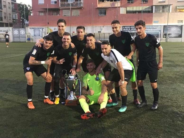 El Malagueño se lleva la victoria. CDElPalo