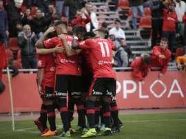 El Mallorca ganó 1-3 al Badalona. RCDMallorca