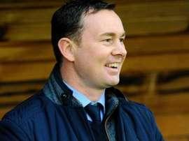 El manager del Plymouth Argyle, Derek Adams. BBC